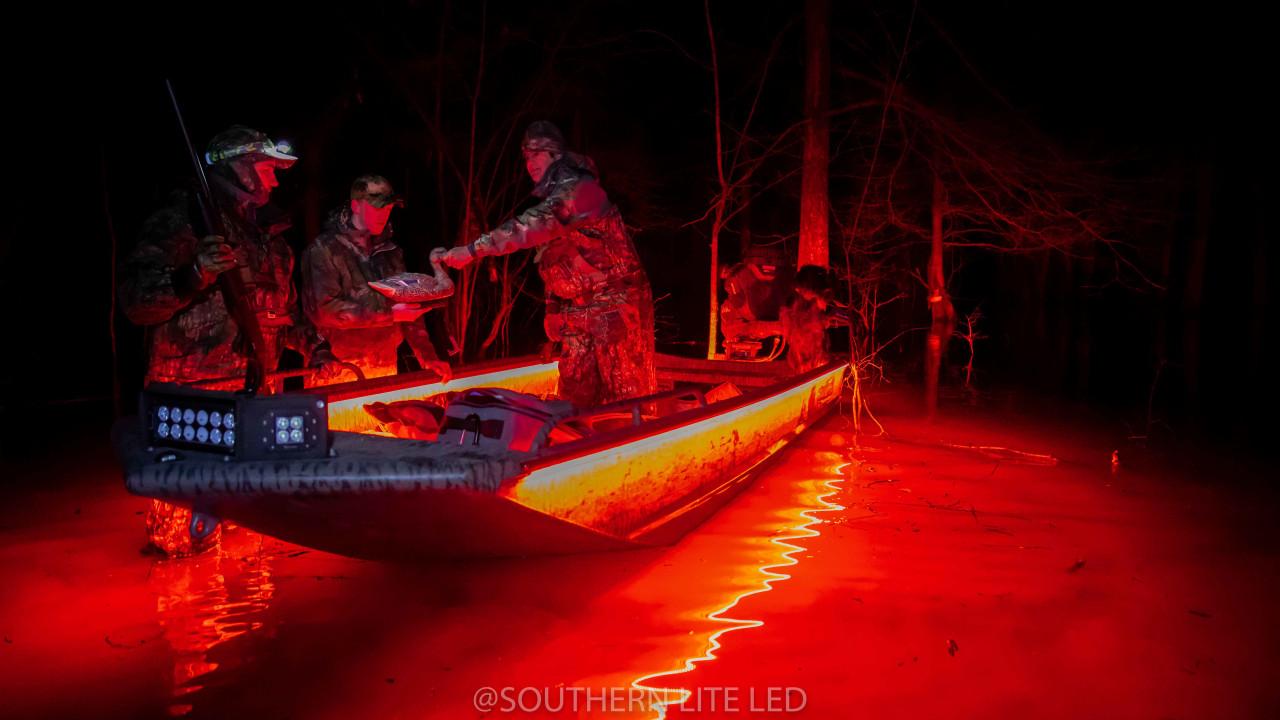 best duck boat lights