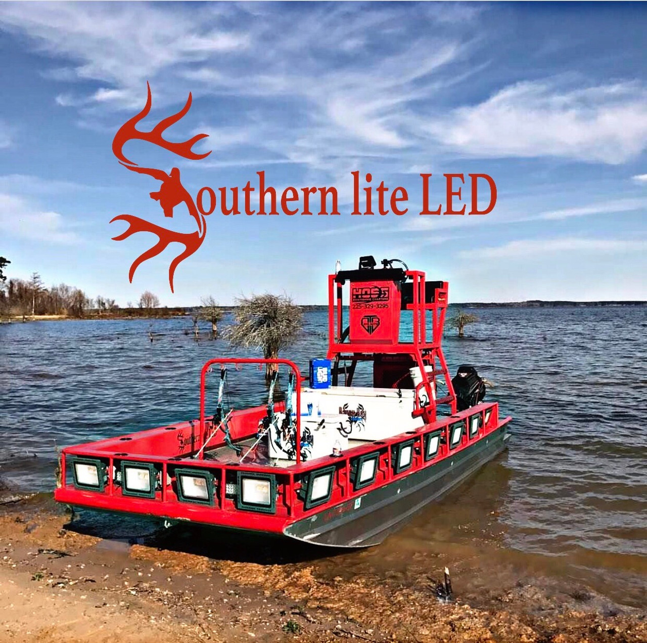 **NEW** Southern lite LED Pro 160 Watt LED Bowfishing Light