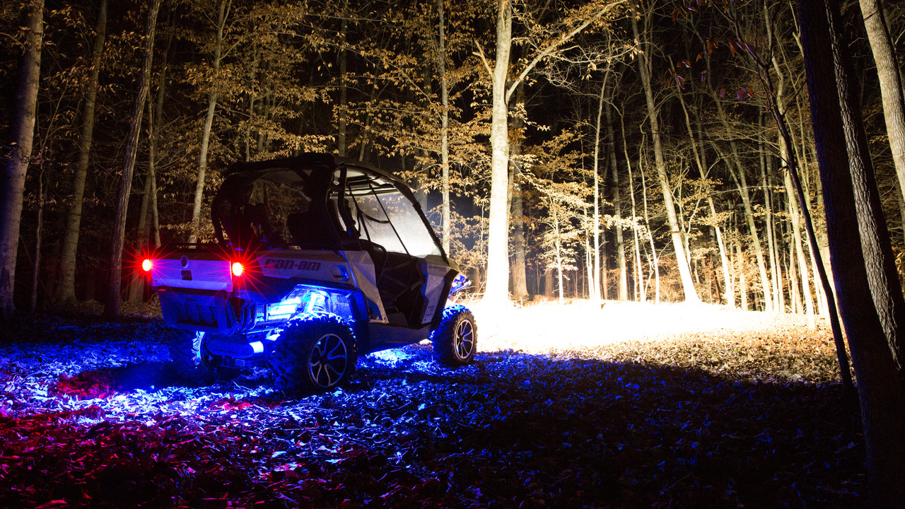 """CAN AM 21"""" LED Light Bar Package"""