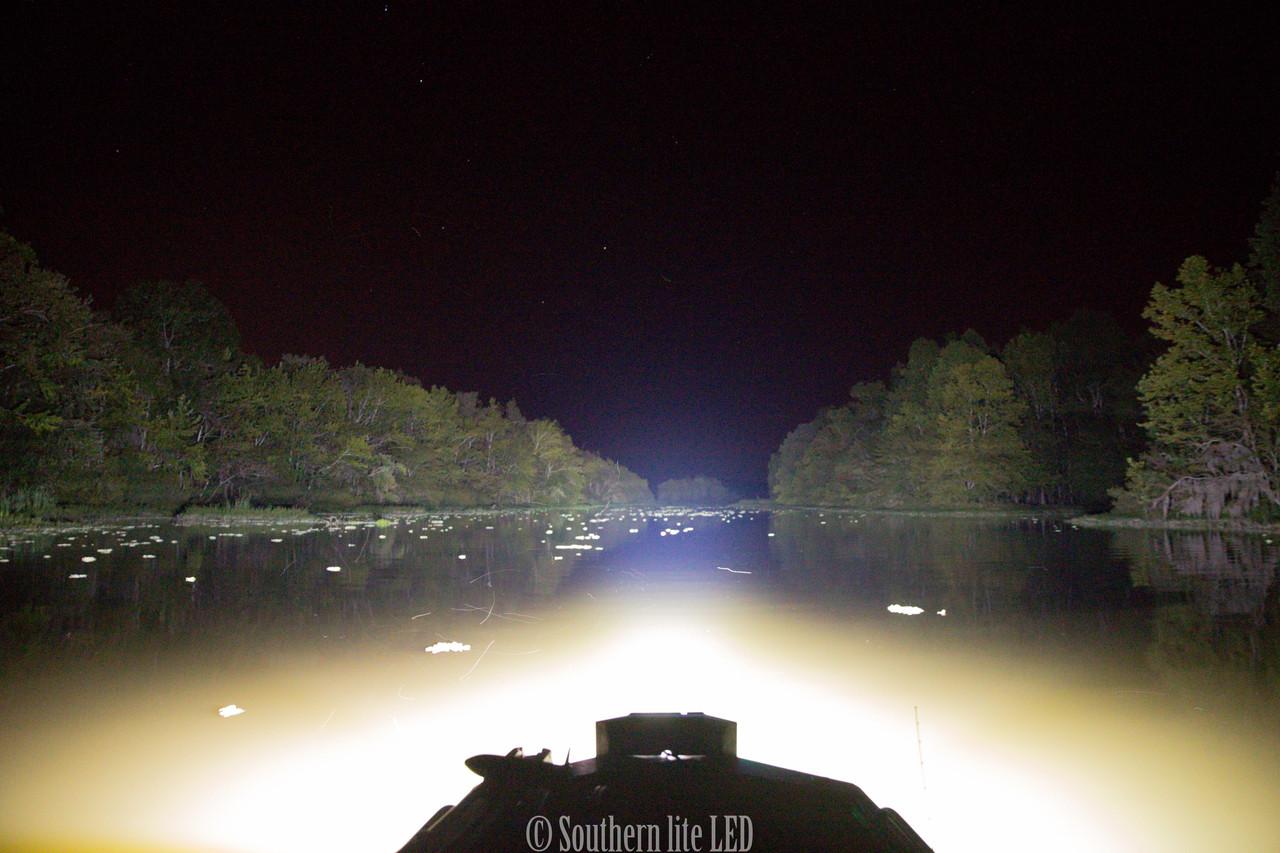 best led duck boat light