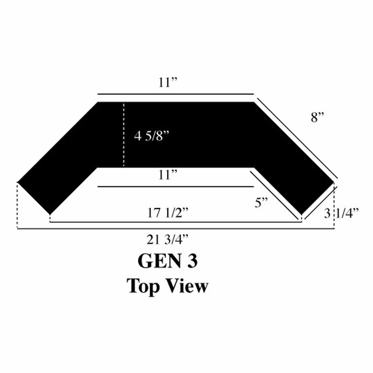 Gen 3 boat light dimensions