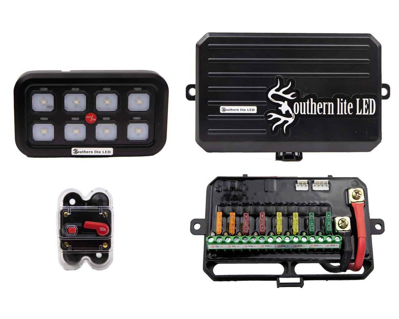 ULTIMATE MARINE LED WIRING AND SWITCH SYSTEM (940 Watts Max)