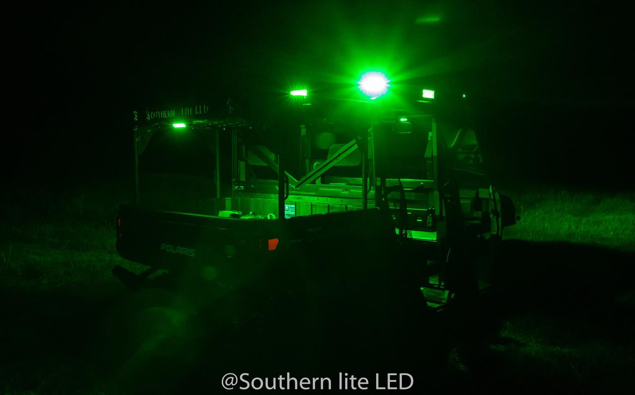 Polaris bed rack lights