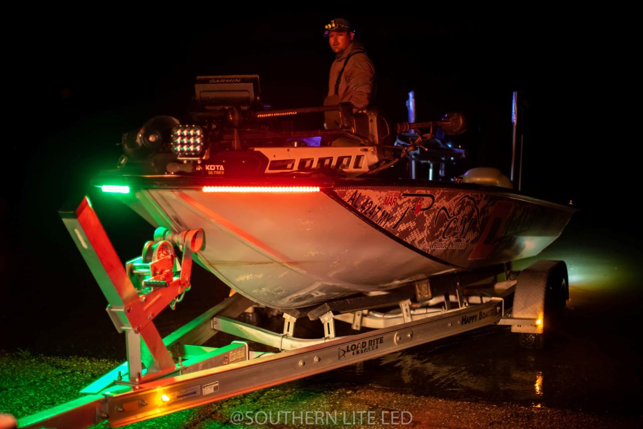 led bass boat light