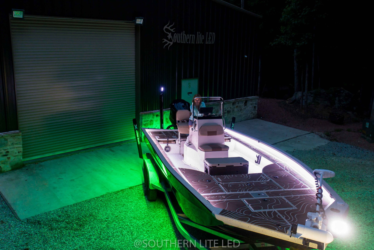 led light package for center console