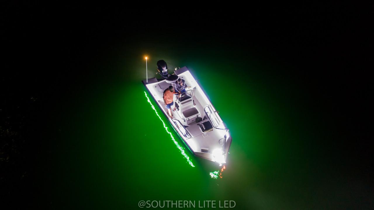 led trolling motor light