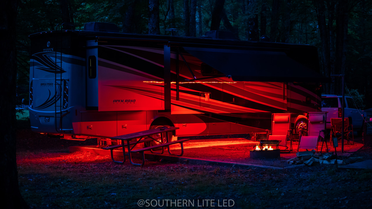 MOTOR HOME UNDERGLOW KIT RED