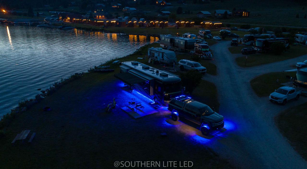 Custom Motorhome LED Under-glow Kit