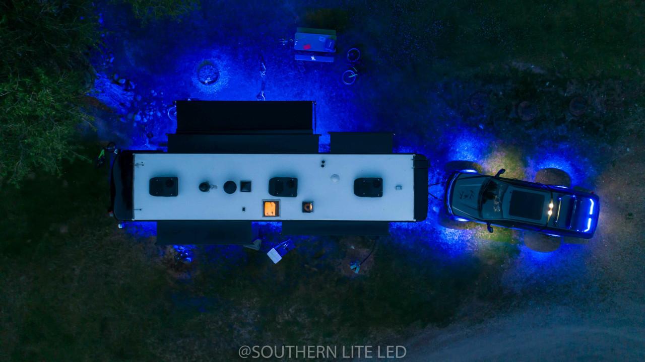 lights under camper