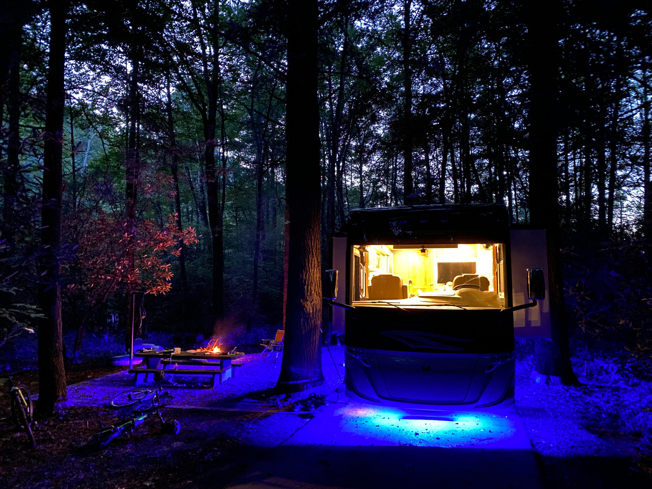 camper underglow