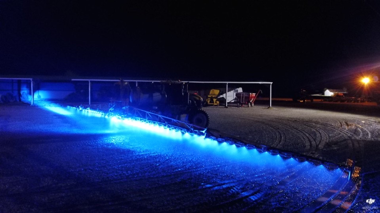 Blue LED Boom Nozzle light