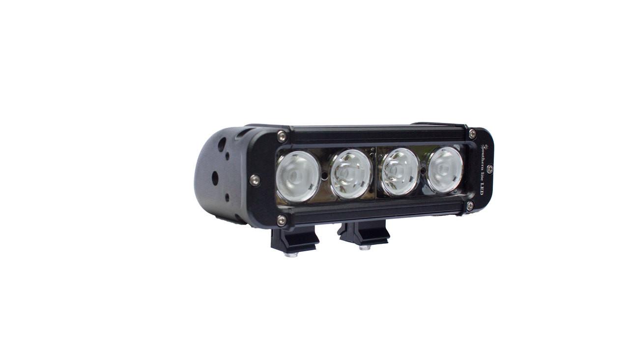 "8"" Southern lite LED 40 Watt Light Bar - 4,160 Lumens - Includes Brackets and Wiring Harness"