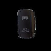 LED Backlit Rocker Switch