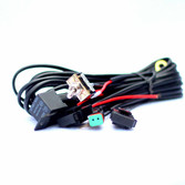 Southern lite LED Wiring harness - includes toggle switch, water tight DT connecter, and fuse