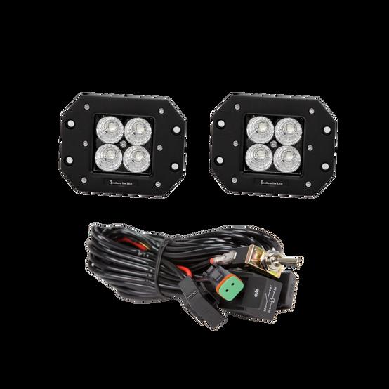 SLL flush cube lights