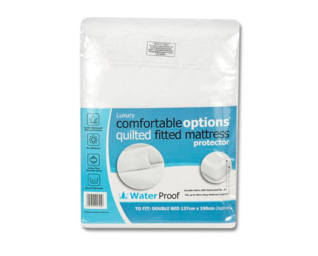 Quilted Waterproof Pillow Protector