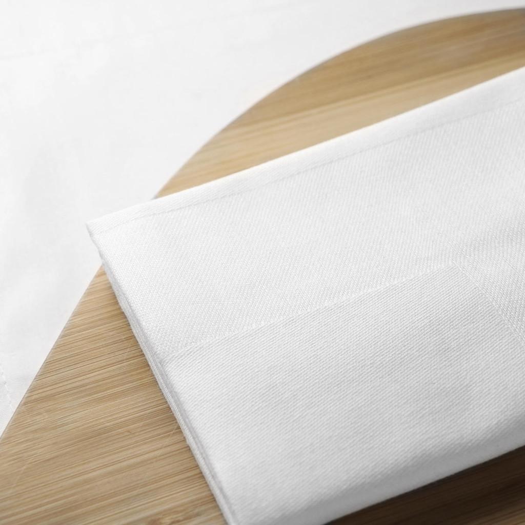 Cotton Damask Satin Band Tablecloths