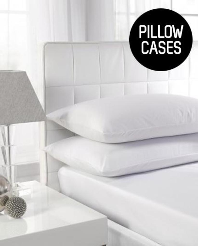 200TC 100percent Cotton - Percale Pillowcases