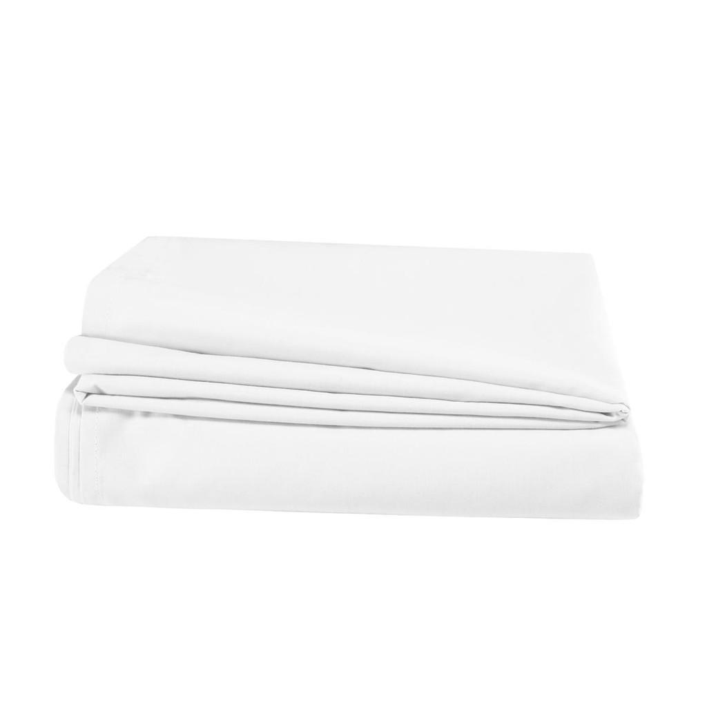 200TC 100percent Cotton - Percale Flat Sheets