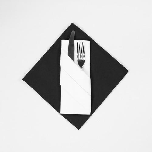 100percent Polyester Plain Napkins