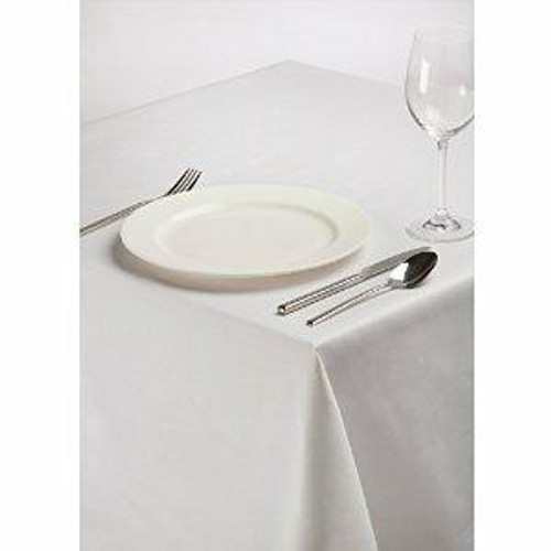 54x70 137x178 cm Easy Iron Polycotton Tablecloths - Pack of 10
