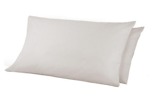 68 Pick Polycotton Pillowcases - White Pack of 2