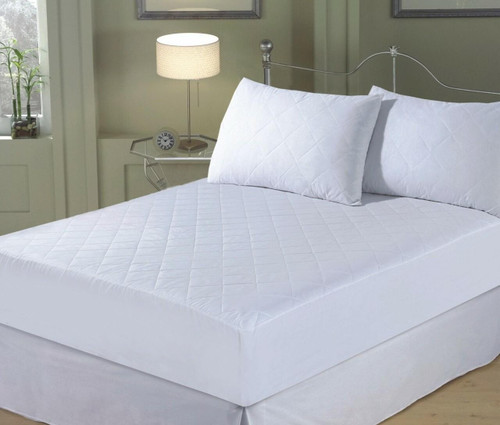 Double 9 Deep Quilted Mattress Protector - Single Piece