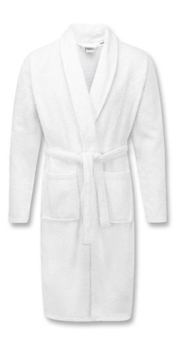 White 100percent Cotton Terry Towelling Bath Robes