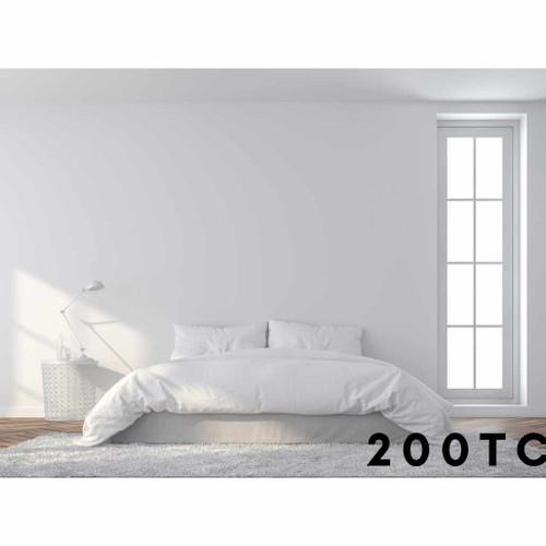 100percent Cotton 200 Thread Count Bedding