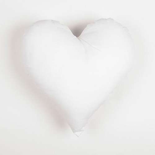 Heart Shaped Cushion Pads - 16 Inches