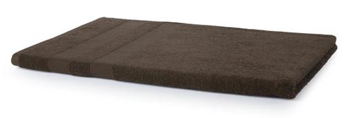 500 GSM Beach Towel - Chocolate Brown
