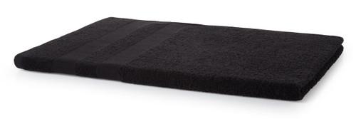 500 GSM Beach Towel - Black