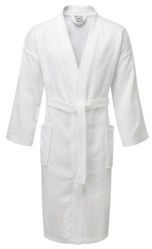 Value Range Terry Towelling Kimono Bathrobe - 100percent Cotton