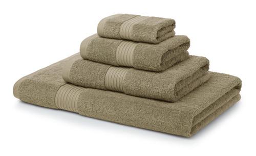 Single 700 GSM Royal Egyptian Hand Towels -Latte