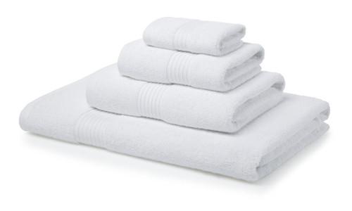 Single 700 GSM Royal Egyptian Bath Towels-White