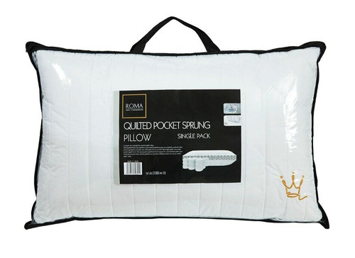 Quilted Pocket Spring Pillow