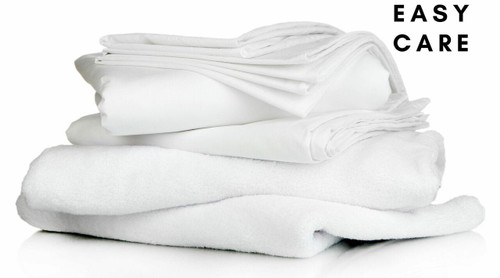 Easy Care Full Bedding Pack - Includes Pillow, Duvet, Pillowcase, Duvet Cover and Fitted Sheet