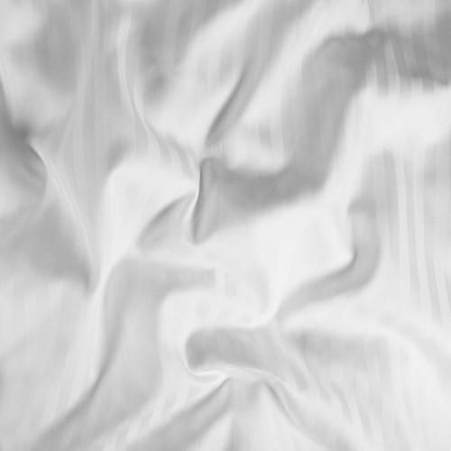 200TC Easy Iron Cotton Rich Satin Stripe - Duvet Covers
