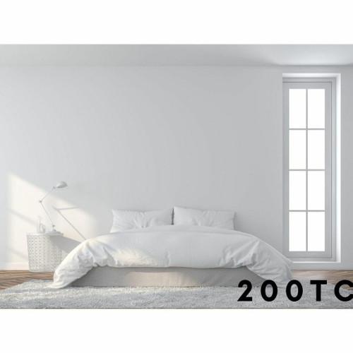 200TC 100percent Cotton - Percale Duvet Covers