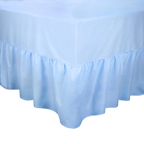 68 Pick Polycotton Kingfisher Collection - Valance Sheets