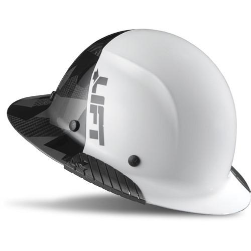 LIFT HDF50C-20CK DAX Carbon Fiber Full Brim 50-50 (White/Black Camo)