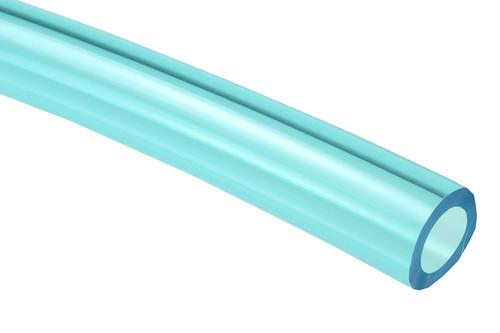 Coilhose Pneumatics PT0815-500TB Polyurethane Tubing, 8mm X 5mm x 500', Transparent Blue