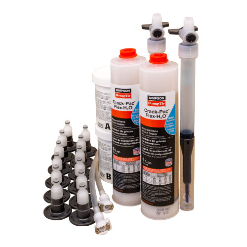 Simpson Strong-Tie CPFH09KT Crack-Pac FLEX-H2O Polyurethane Crack Sealer Kit
