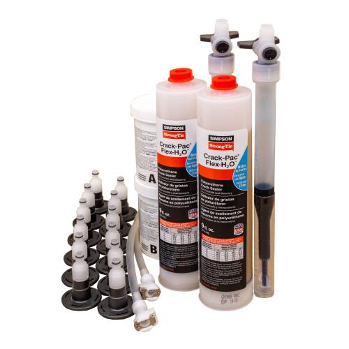 Simpson Strong-Tie CPFH09KT Crack-Pac FLEX-H2O Polyurethane Crack Repair Sealer Kit