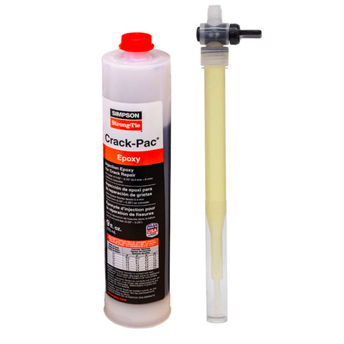 Simpson Strong-Tie ETIPAC10 9oz CRACK-PAC Injection Epoxy