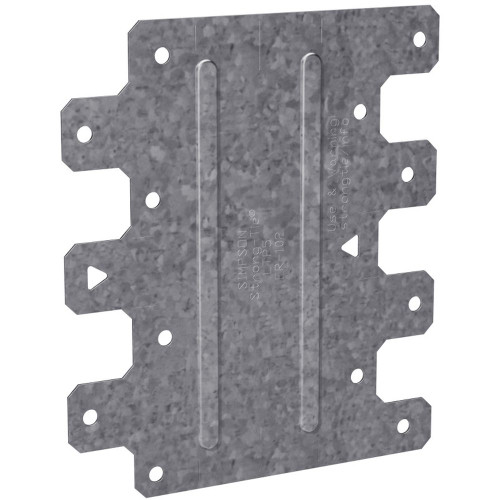"""Simpson Strong-Tie LTP5 4-1/2"""" X 5-1/8"""" Galvanized Lateral Tie Plate"""