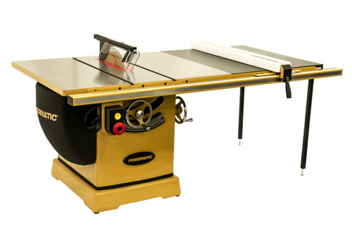 "Powermatic PM375350K 3000B table saw - 7.5HP 3PH 230/460v 50"" RIP with Accu-Fence"