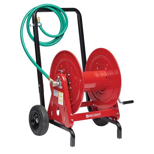 "Reelcraft 600965 - 1/2"" x 200 ft. Hose Reel and Hand Cart"