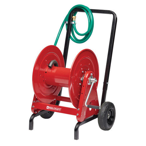 """Reelcraft 600965 - 1/2"""" x 200 ft. Hose Reel and Hand Cart"""