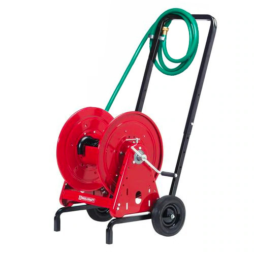 "Reelcraft 600966 - 1/2"" x 200 ft. Hose Reel and Hand Cart"